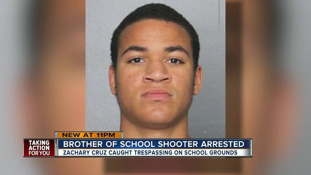 Brother of Parkland shooter arrested for trespassing at Stoneman Douglas high
