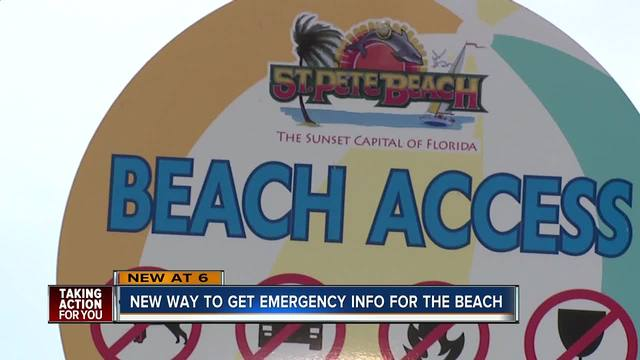 New alert system launched to help keep Tampa Bay beaches community informed