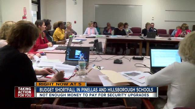 Budget shortfall in Pinellas and Hillsborough schools