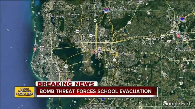 Students evacuated after second bomb threat in two days at Central High…
