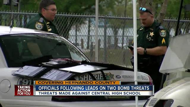 All clear given after second bomb threat in two days at Central High…