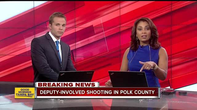 Deputy-involved shooting under investigation in Polk County- no deputies injured
