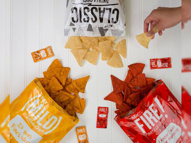 We Tried Taco Bell's Hot Sauce-Flavored Tortilla Chips