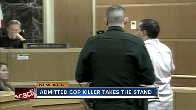 Man who pleaded guilty to killing a Tarpon Springs officer takes stand…