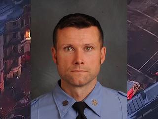 Firefighter dies battling movie set fire