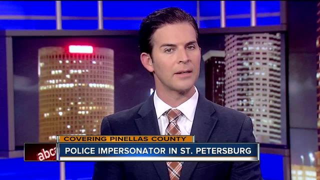 St- Pete Police investigating possible police impersonator