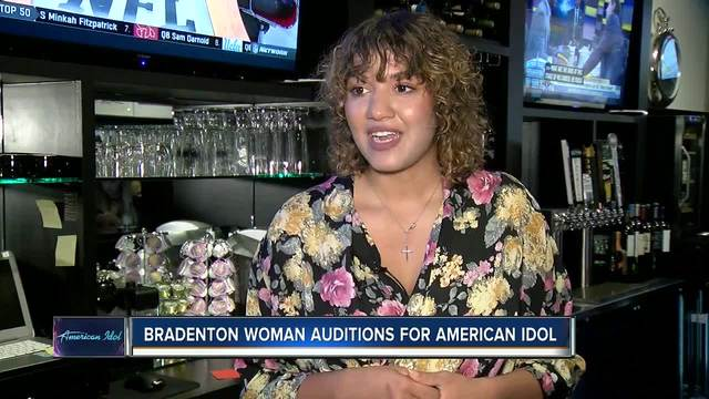 Bradenton woman performs for celebrity judges on American Idol