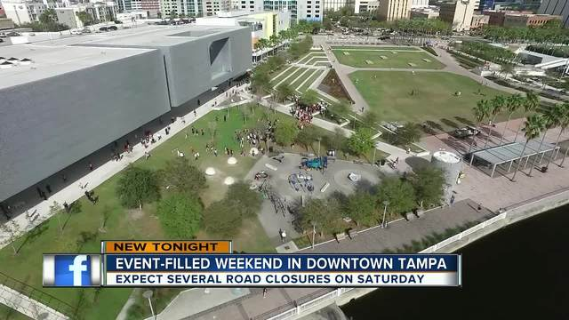 Closures anticipated during March for Our Lives rally- and Tampa-s Pride Parade