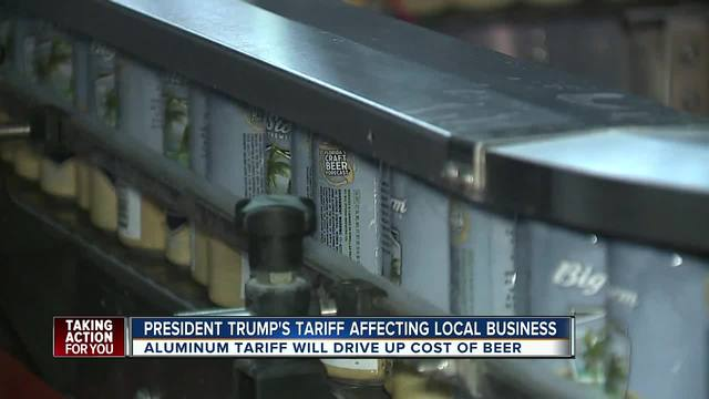 New steel and aluminum tariffs could affect craft beer in Tampa