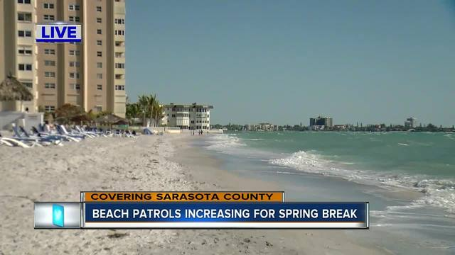 Sarasota Deputies increase patrols during busy spring break
