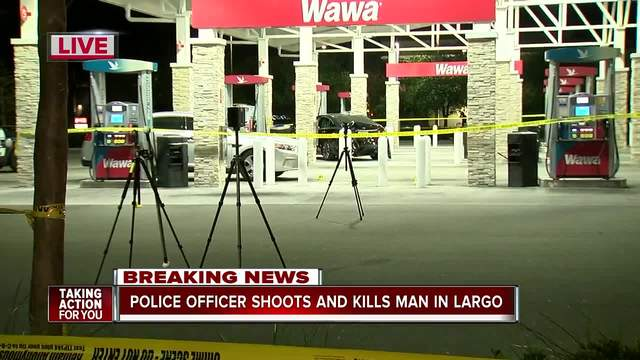Largo Police investigating deadly officer-involved shooting