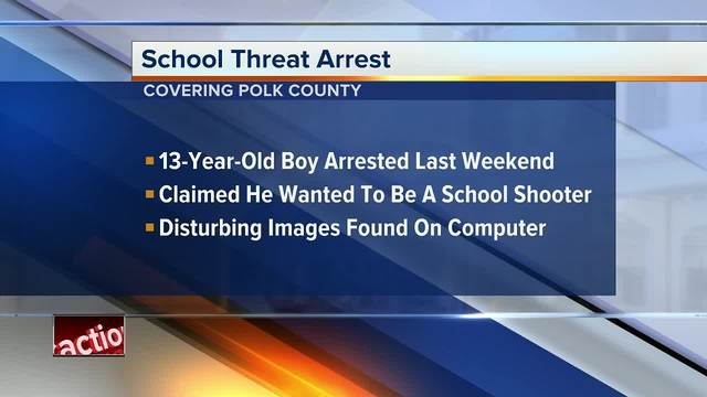 Florida 13-year-old wanted to be next school shooter