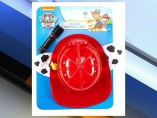PAW PATROL Hat and Flashlight recalled