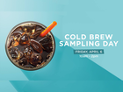 Get FREE Dunkin' Donuts cold brew coffee today