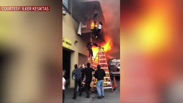 Panicked Children Jump From Balcony of Burning New Jersey Dance Studio