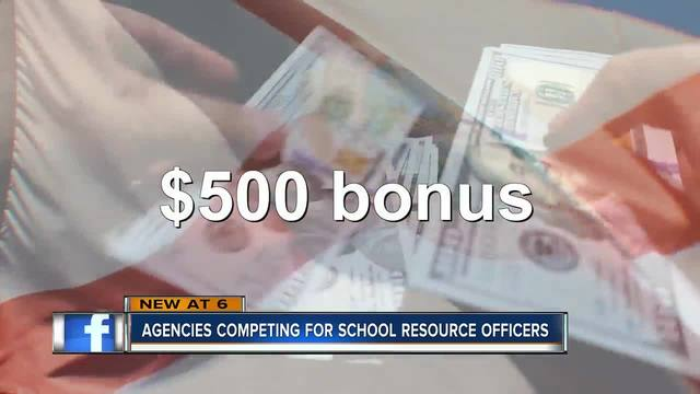 Pinellas Sheriff's Office turns to bonuses to lure school resource deputies