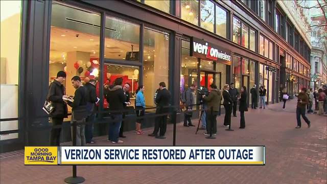 PM Update on Verizon outage