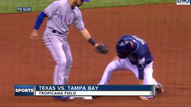 Nomar Mazara homers in Rangers' loss to Rays