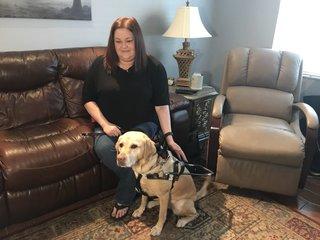 Lyft driver denied woman with service dog