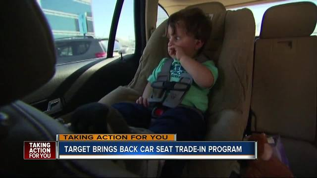Target\'s car seat trade-in event is back; Recycle an old car seat ...