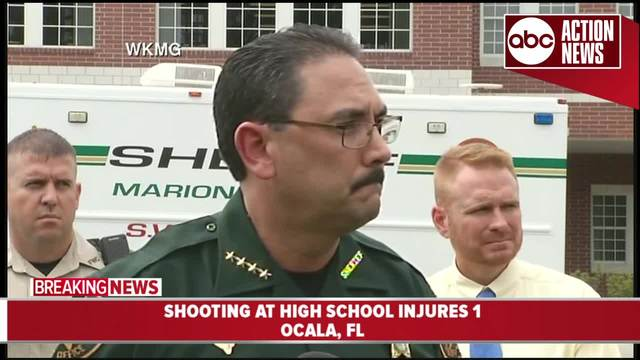 1 injured in shooting at Florida high school, authorities say