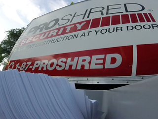 Free shredding event happening today
