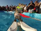 'Twiggy' the water-skiing squirrel in Sarasota