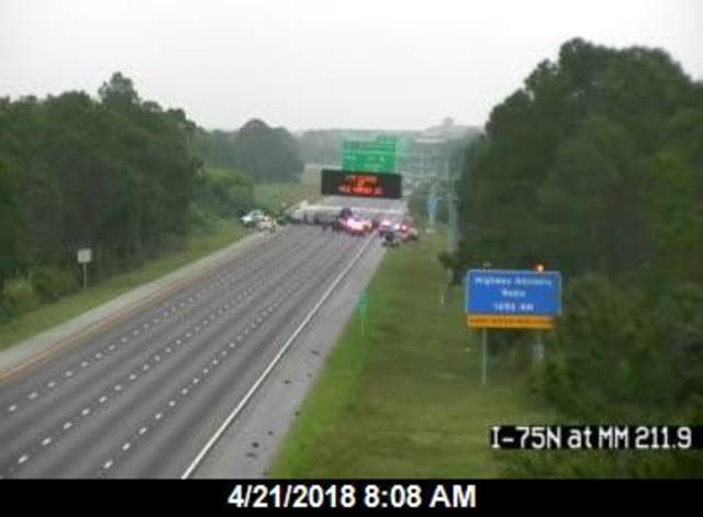 Deadly Accident Shuts Down I-75 in Sarasota County — FIRST ALERT TRAFFIC