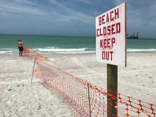 Work begins to give Pinellas beaches a facelift