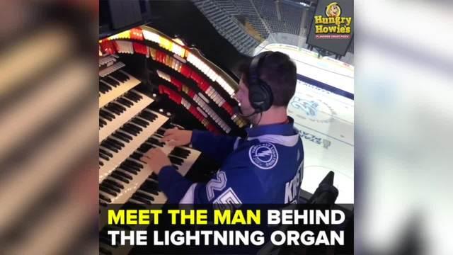 Meet the man behind the Tampa Bay Lightning organ - Taste and See Tampa Bay