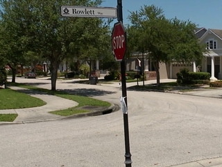 Close call for Westchase girl hit by car