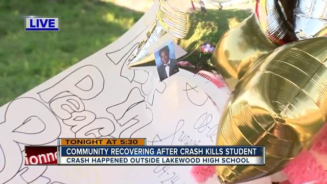 Lakewood High School student dies after being struck by vehicle crossing Wadsworth