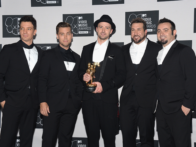 NSYNC Tears Up Our Hearts By Reuniting For Hollywood Walk Of Fame