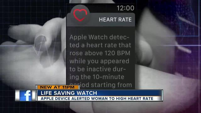 The Apple Watch is out here saving lives