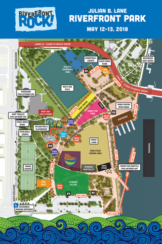 Tampa Truck Center >> Julian B. Lane Riverfront Park opens in Downtown Tampa this weekend