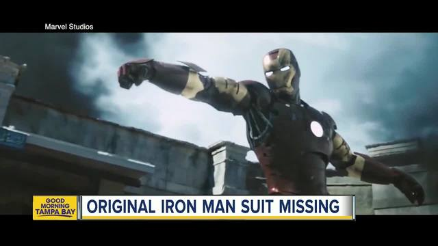 'Iron Man' Original Suit Burgled From Pacoima Prop House, LAPD Investigating