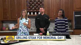 Grill master shares tips on making perfect steak