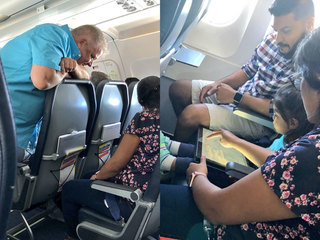 Act of kindness on Tampa-bound flight goes viral