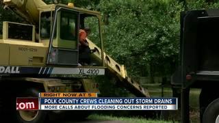 Polk receiving way more rain than usual in May