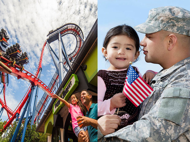SeaWorld, Busch Gardens Offer Free Admission To U.S. Veterans And Their  Families