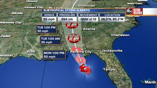 Tropical Storm Warning lifted for Hillsborough
