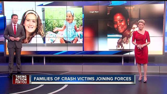 Families of crash victims join forces to make a change