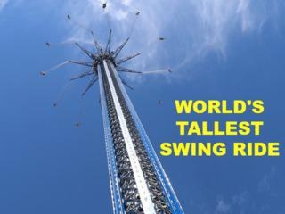 World's tallest swing ride now open in Orlando