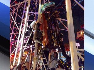 Rollercoaster derails in Florida, injuring 6