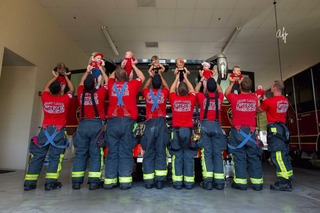 East Lake firefighters celebrate baby boom