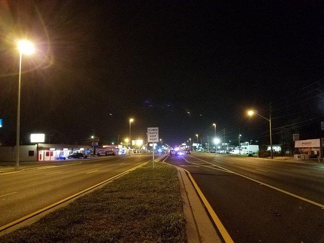 Motorcycle, pedestrian collision kills 2 on US19