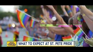 Family friendly zone at St. Pete Pride 2018