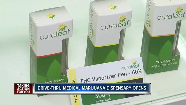 Florida-s first medical marijuana drive-thru dispensary opens in Palm Harbor