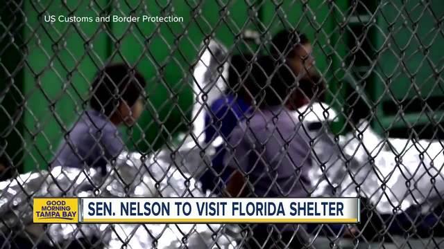 Sen- Nelson to visit Florida immigration shelter