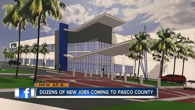 Medical equipment company bringing 116 jobs to Pasco County